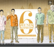 6 jeunes khmers