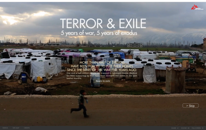 Terror & Exile : 5 years of war, 5 years of exodus