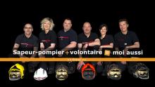 Sapeur-pompier + volontaire = moi aussi