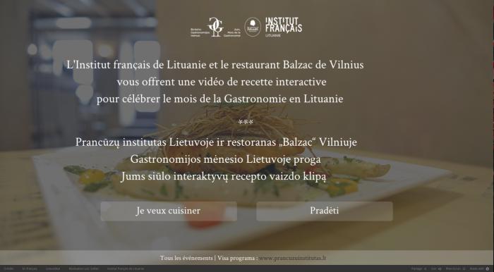 Promotion du mois de la gastronomie en Lituanie