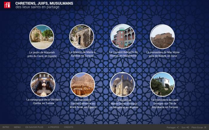 Chrétiens, juifs, musulmans : des lieux saints en partage